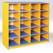Купить шкаф для горшков 1150х350х1100 мм, Шкафчик для горшков, мебель для детского садика, мебель в садик,Код: 4521