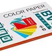 BVG Paper Бумага цветная BVG, А4, 80г, 100л/уп, красная, интенсив фото