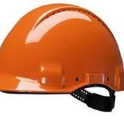 Каски строительные защитные (оранжевые, белые) фото