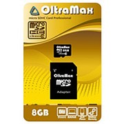 Карта памяти OltraMax micro SDHC 8GB class 10 фото