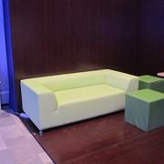 Аренда, прокат дивана салатового 3-х местного «SAFARI»