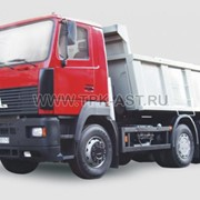 Автомобиль самосвал МАЗ-6501 автопоезд фото
