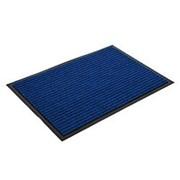 Коврик Floor 50*80см влаговпитывающий ребристый, синий, Standart фото