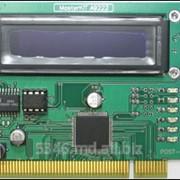 MASTER-KIT BM9222 Устройство для ремонта и тестирования компьютеров POST Card PCI фото