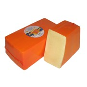 Сыр Голландский - премиум фото