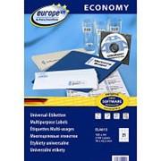 Этикетки Avery Zweckform Европа-100 универсальные, L+CL, 70x42,3мм, А4, 21шт/л, 100л/уп ELA013 фото