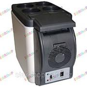 Автохолодильник термоэлектрический переносной 7л фото