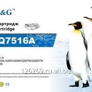 Тонер-картридж G&G для НР LaserJet 5200 CanEpson LBP-3500 12000стр фото