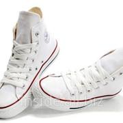 Кеды Converse All Star белые фото