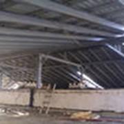 Поставка металлоконструкций на строительную площадку фото