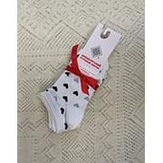 Носки женские Н317-01 белый отбеленный фото