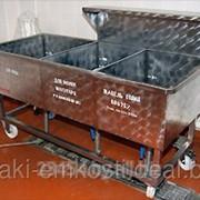 Ванны моечные, ванны технологические из нержавеющей стали фото