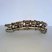 Сувенир 7 слонов на бивне, 6,5*22*4,5 см фото