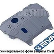 Защита картера и КПП Rival для Nissan Almera (2013-...) алюминий фото