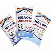 """Молоко пастеризованное """"Мозырское"""" мдж 2,7%, 1л фото"""
