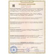 Подтверждение соответствия Требованиям Технических Регламентов Таможенного Союза (в форме сертификации и декларирования) фото