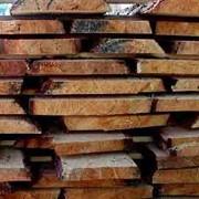 Сырье техническое из дуба. Доски необрезные (дуб) фото