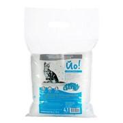 Наполнитель силикагелевый для кошачьих туалетов Йо! Кристалл 4,1л фото
