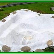 Укладка геотекстиля фото