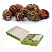 Подарки для детей: набор для детского творчества - роспись пасхальных яиц своими руками фото