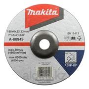 Шлифовальный диск по металлу Makita A36P 180x6 мм фото