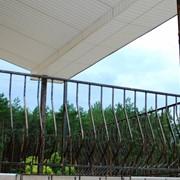 Металлические перила на террасу и балкон для дома фото