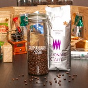 Cafea boabe Kilimanjaro Moshi фото