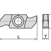 Ножи пазовые 34×16×4,0 Ceratizit 11921650 фото