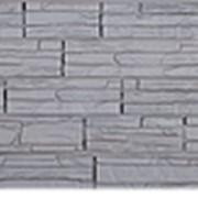 Фасадные панели T-Сайдинг, коллекция «Альпийская Скала» серый, 1090х455 фото