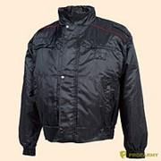 Куртка демисезонная иссиня черная фото