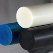 Капролон стержень 160 мм (1000 мм, 25,1 кг) фото