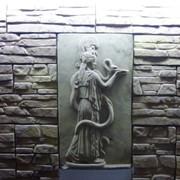 Греческий барельеф Афина Паллада фото