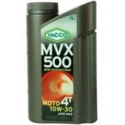 YACCO MVX 500 4T 10W-30, 4л масло для мотоциклов фото