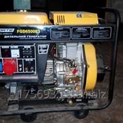 Дизельный генератор Forte FGD6500E3 фото