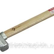 Молоток Зубр слесарный оцинкованный, цельнокованый с защитным ободом, квадратный боек, 0,6кг Код: 4-20013-06 фото