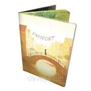 Оригинальная обложка для паспорта Прогулка фото