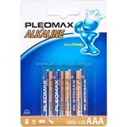 Батарейка R3 Pleomax LR03 2BP фото