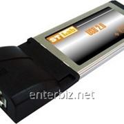 Контролер STLab C-440 SATAII 1ch*eSATA+ USB2.0 1port ExpressCard, код 68556 фото