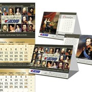 Изготовление и печать календарей разных видов и размеров фото