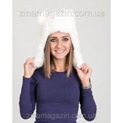 Меховая шапка ушанка с ушками 10 фото