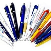 Нанесение логотипов на ручки фото