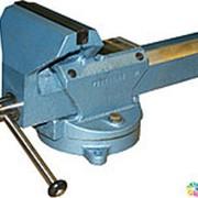 Тиски слесарные неповоротные модерн. ТСМН-200 (Глазов) фото