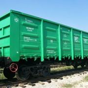 Грузовые полувагоны железнодорожные, Б\У Украина фото