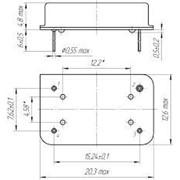 Генератор кварцевый ГК324-ТК - термокомпенсированный, ГК324-УТК - управляемый напряжением термокомпенсированный фото