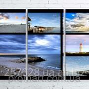 Модульна картина на полотні Австралія. Морські пейзажі код КМ100150-064 фото