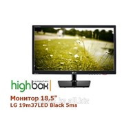 "Монитор 18,5"" LG 19m37LED Black 5ms фото"