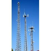 Мачты для мобильной связи различной высоты. для установки оборудования мобильной радиотелефонной связи стандартов GSM-900;GSM-1800;NMT;CDMA;радиорелейной связи. фото