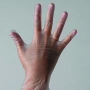 Перчатки одноразовые виниловые фото