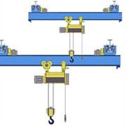 Кран мостовой однобалочный подвесной однопролётный г/п 1 т пролет 15,0 м фото