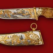 Нож Уссурийский тигр 360*210*45*5 фото
